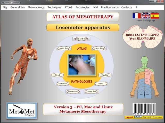 Connect to the ATLAS OF MESOTHERAPY